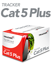 tracker cat 5 plus logo